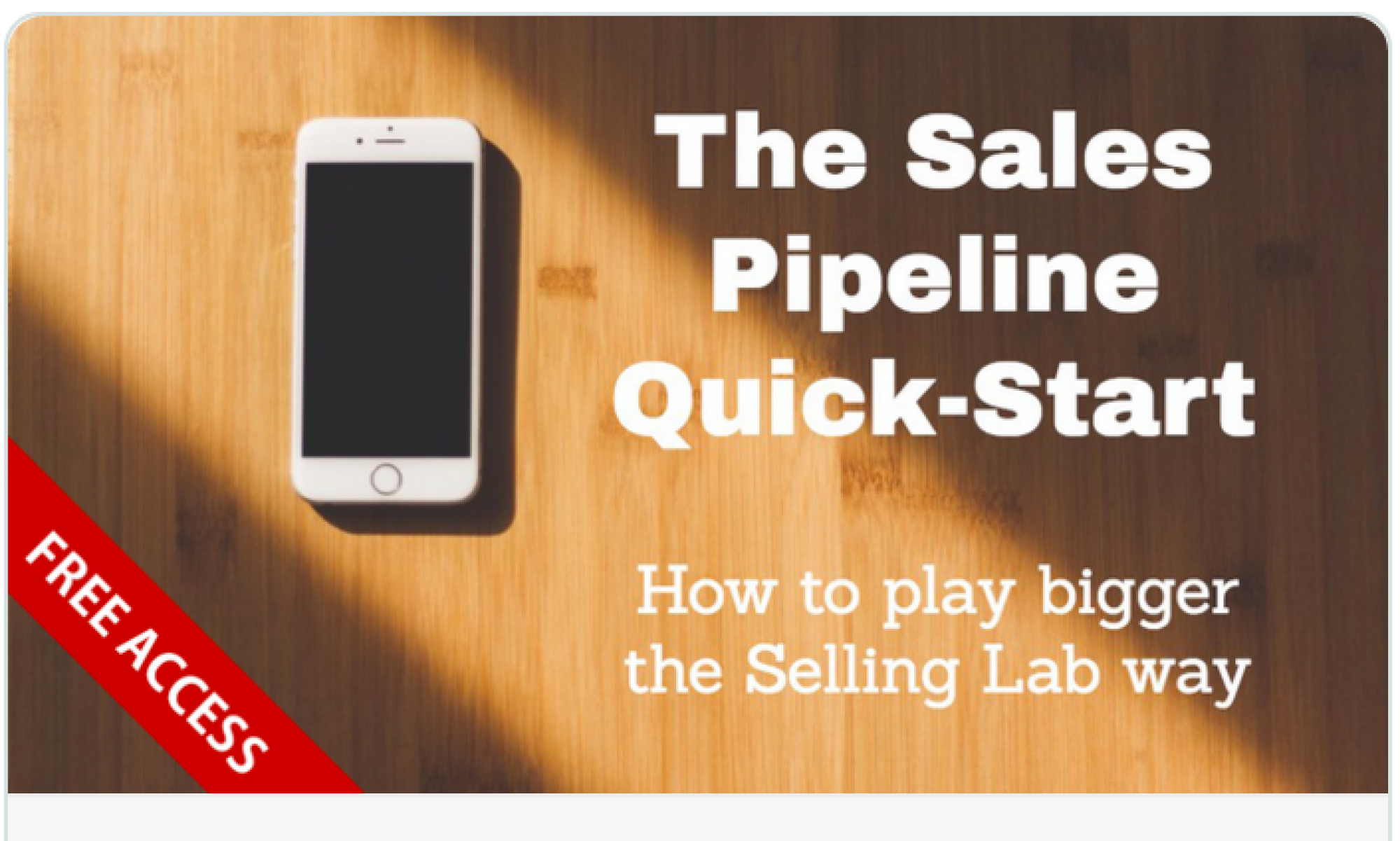 Selling Lab